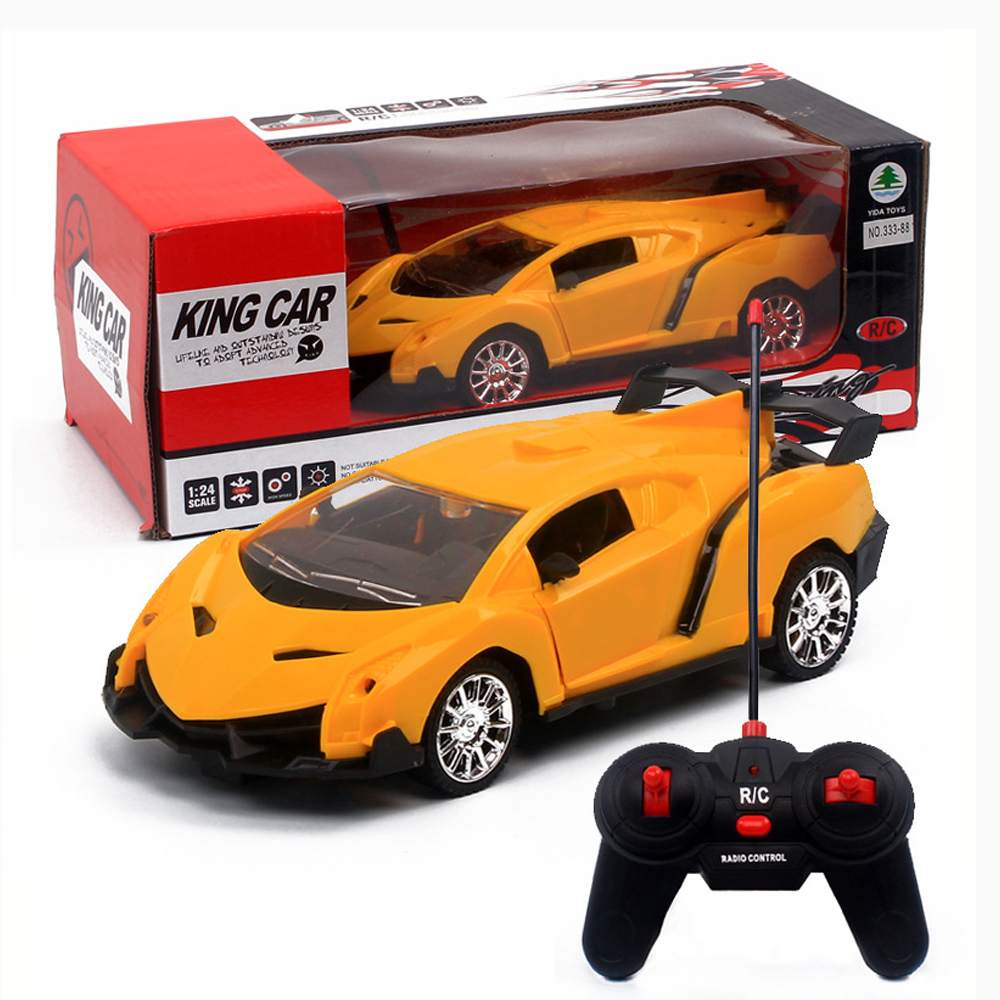 Image 2 - Upgrade version Super Racing Car door open Rc Speed Radio Remote Control Sports Car 1:24 Motor Xmas Gift Kid toy-in RC Cars from Toys & Hobbies