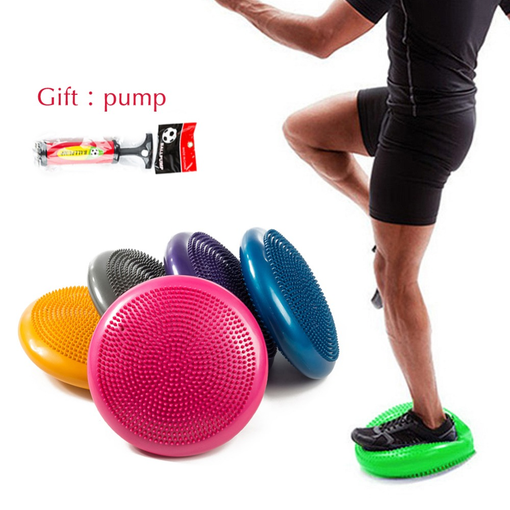 Waterproof Soft Balance Pad Yoga Mat Block Pad Thick Balance Cushion Balance Disk Fitness Training Yoga Pilates Balance Board