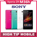 "Abierto original sony xperia zr m36h android quad-core 8 gb gsm wifi gps 4.6 ""13.1mp sony m36h c5503 móvil reformado"
