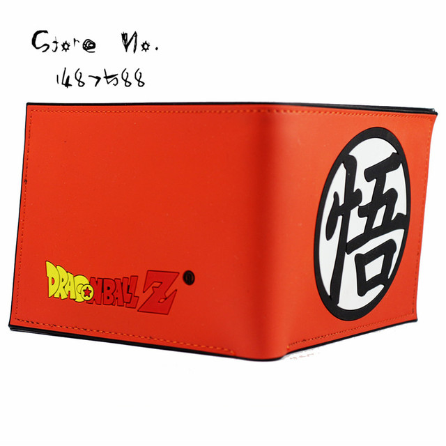 Dragon Ball Z Wallet Goku Sign