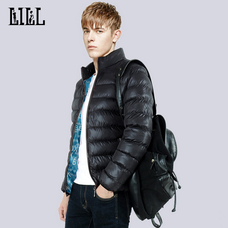 Fashion Men's Warm Winter Jackets Man Casual Thick Cotton-Padded Coats Men Slim Parkas Stand Collar Wadded Jacket 5XL,UMA283