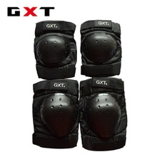 Free shipping GXT Motorbike protective gear knee and elbow pads G06 short to convenient travel men and women