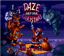 Daze Before Christmas 16 bit MD card with Retail box for Sega MegaDrive Video Game console system 1