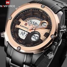 Top Brand NAVIFORCE Men Military Waterproof LED Sports Watches Men's Digital Analog Clock Male Wrist Watch relogio masculino