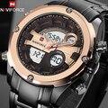 Top luxury brand naviforce militares hombres a prueba de agua led relojes deportivos hombres reloj digital hombres reloj de pulsera relogio masculino