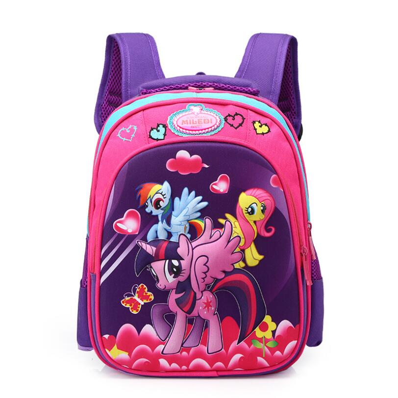Kids School Bags Orthopedic Unicorn Backpack Schoolbag Waterproof School Bags For Girls Children Pony Backpacks Mochila Escolar