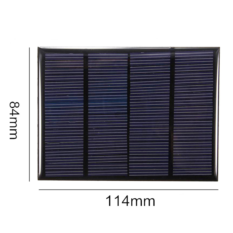 Overfly 18V 1.5W Solar Panel Portable Mini Sunpower DIY Module Panel System For Solar Lamp Battery Toys Phone Charger Solar Cell