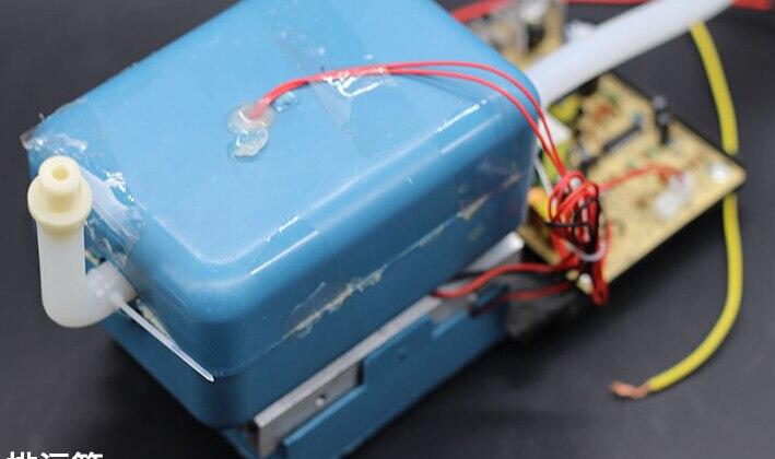 Bello 220 V 65 W Acqua Dispneser Parti Pentola Di Raffreddamento Con Ventola E Il Tubo 13mm Parti Di Raffreddamento Dell'aria Mini Frigo Parti