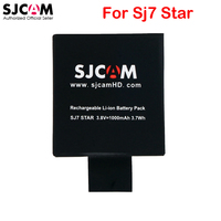 100 Original SJCAM Sj7 Star 2 Pcs Battery Travel Dual Slot Charger For SJ7 Star Mini