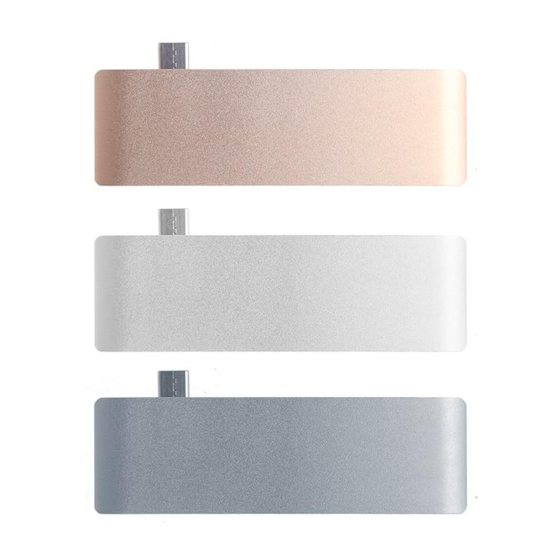 5In1 USB C 3,1 Typ C Hub Leistungsentfaltung PD-Power-High Speed USB 3.0 Combo Splitter SD/TF Kartenleser Für Dell MacBook