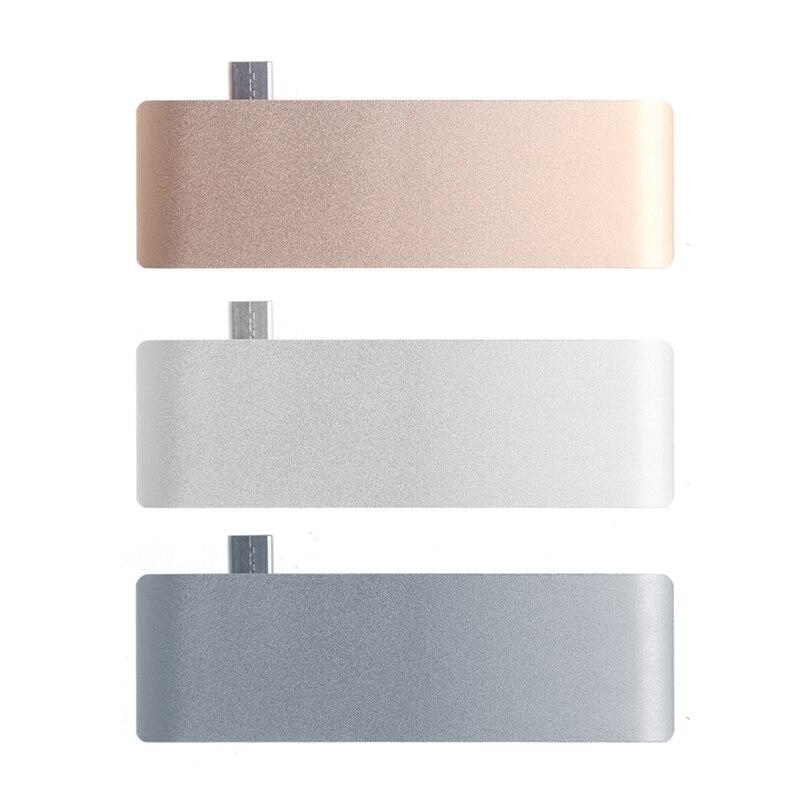 5In1 USB C 3.1 tipo C Hub Power entrega PD de alta velocidad USB 3.0 divisor Combo sd/ lector de tarjetas TF para Dell MacBook