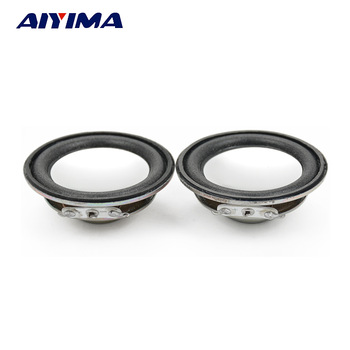 AIYIMA 2Pcs 45MM Audio Portable Speaker 1.75Inch 4Ohm 3W Full Range Speakers Neodymium Magnetic DIY Stereo Box Accessories