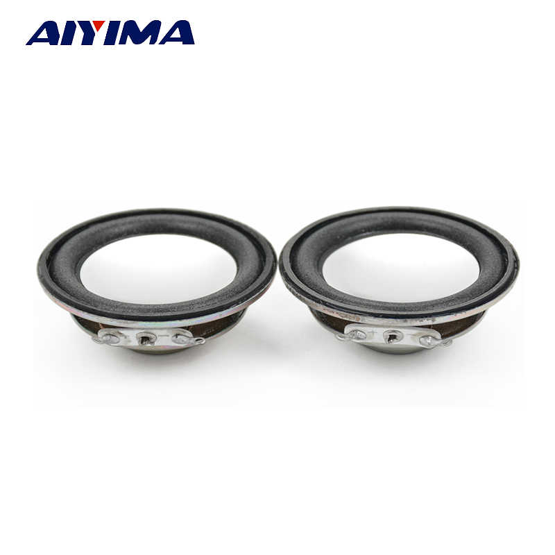 AIYIMA 2Pcs 45MM Audio Portable Speaker 1.75Inch 4 Ohm 3W Full Range Speakers Neodymium Magnetic DIY Stereo Box Accessories