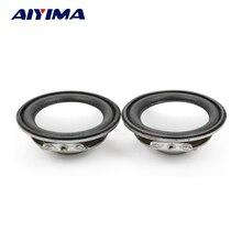 AIYIMA 2Pcs 45MM Audio Portable Speaker 1.75Inch 4Ohm 3W Full Range Speakers Neodymium Magnetic DIY Stereo Box Accessories