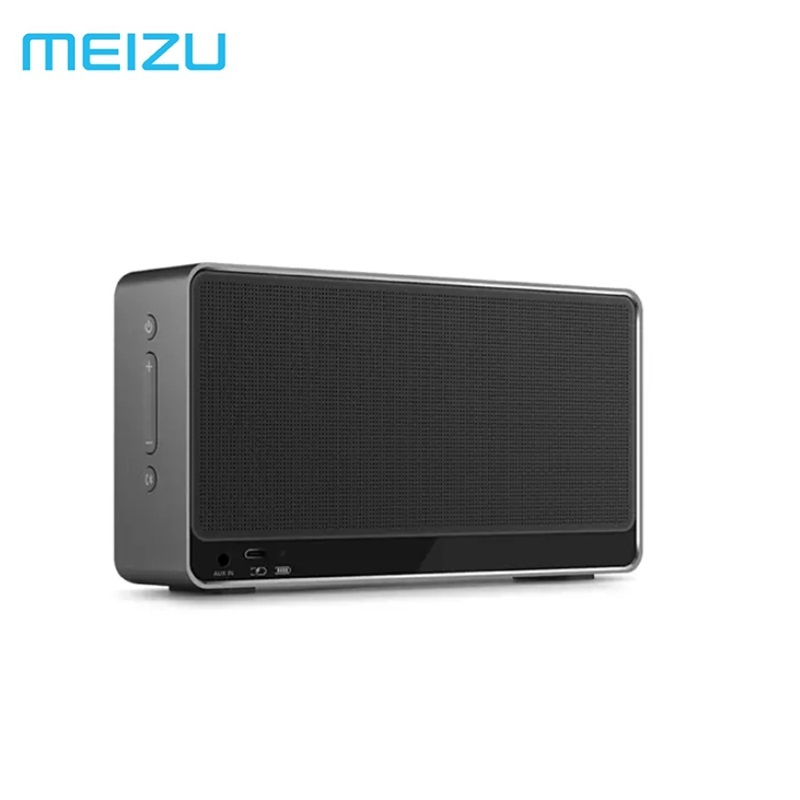 Meizu BTS30 Portable Wireless Bluetooth Outdoor Speaker with Aluminum Case Dual Stereo Sound Bass Units tronsmart element t6 mini bluetooth speaker portable wireless speaker with 360 degree stereo sound for ios android xiaomi player