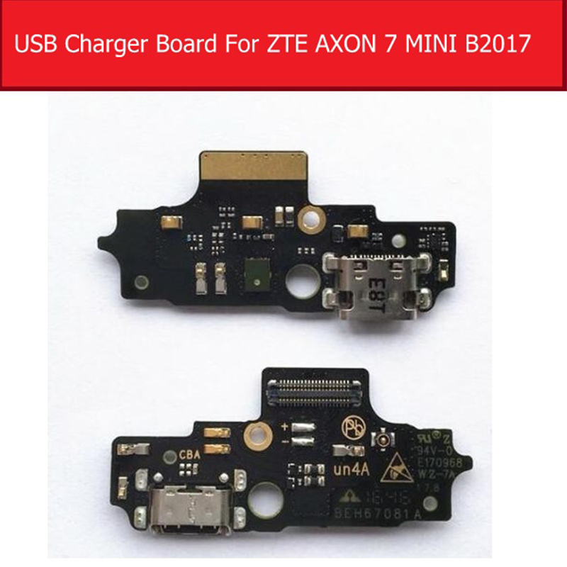 USB Charging Port Board For ZTE AXON 7 MINI B2017G Charger Dock Connector Board Flex Cable Replacement Parts
