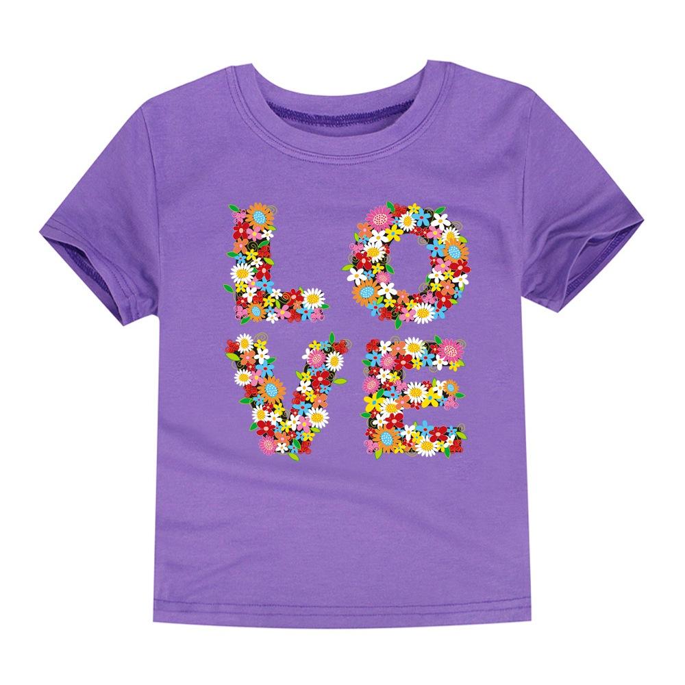 HTB17.agSFXXXXcNXFXXq6xXFXXXO - SMHONG 2017 Baby Girls Flower T-shirt Summer Clothing for Girl Kids Tees Children Short Sleeve T shirt 100% cotton Top quality