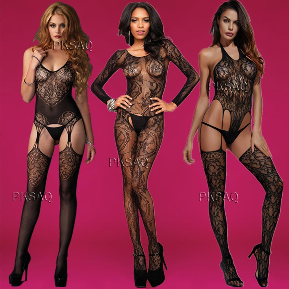 Body Sexy Leopard Costumes Body Suit Body Stockings Sex Erotic Lingerie S002