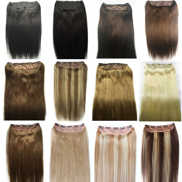 One piece clip in hair extensions human hair gallery hair 150g 1pcsset full head one piece clip in 100 remy indian human 150g 1pcsset full head pmusecretfo Images