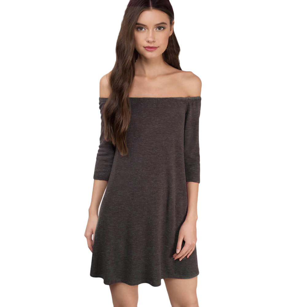 Casual Strapless Dress Promotion-Shop for Promotional Casual ...