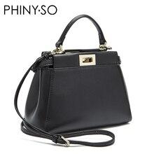 hot deal buy 2016 women messenger bags peekaboo bag handbags high quality genuine leather totes fashion shoulder crossbody bag small tote bag