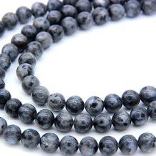 cb3771f80b6a Venta al por mayor cuentas de piedra Natural ronda labradorita perlas para  la fabricación de la joyería DIY pulsera collar 4mm 6.