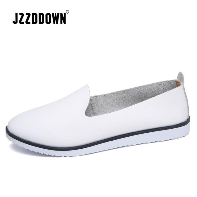Hakiki Deri Kadın Yaz Bale daireler ayakkabı Bayanlar Nefes Tuval Anne Ayakkabı sneaker loaferlar moda Ayakkabı