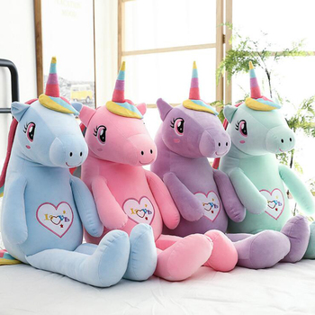 Large Rainbow Unicorn Plush Toy