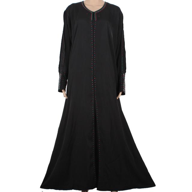 Más nuevo vestido abaya Musulmán ropa Islámica para las mujeres hijab musulmán vestido ropa tradicional vestido de dubai abaya turco CS90M5341