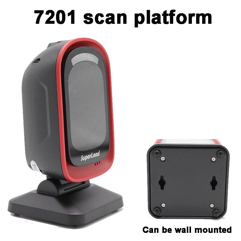 direcional 2D plataforma 2D Barcode Scanner de