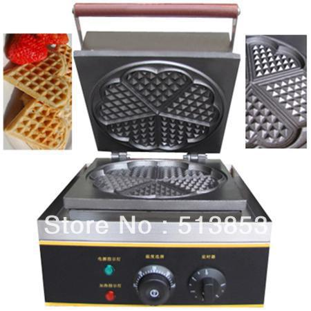 Free shipping,High quality Commercial waffle machine/waffle maker/heart shaped waffle toaster edtid new high quality small commercial ice machine household ice machine tea milk shop