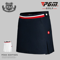 New Golf Women's Skirt Sport Action Color Block Skort for Tennis Golf Apparel Golf Clothes High Quality