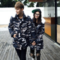 New Autumn Winter Fashion Big Size 5XL Camouflage Men Women Couples Thick Long Camouflage Jacket Coldproof Male Female Warm Coat