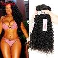 Venda Promoção Peruano Kinky Curly Virgem Cabelo 4 Bundles Lot Feixes de Cabelo Peruano 7a Encaracolado Graça Empresa Cabelo À Venda desconto