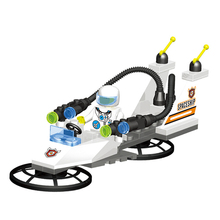 46pcs Space Starfighter Action Toy Assembly Figures Building Blocks Baby Toys for Children Educational Toys For Kids K3030-C3012