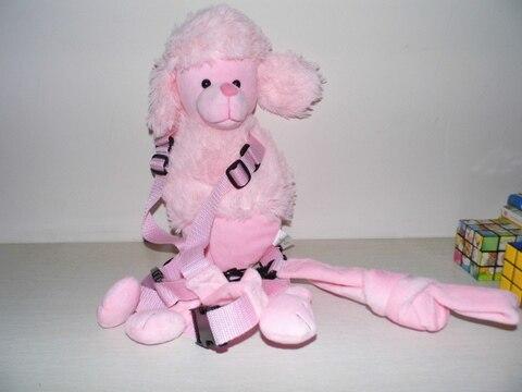 Приятель для того, чтобы держать 2-в-1 Детские накладной Рюкзак Детские поводья для От 1 до 3 лет вокруг - Цвет: Puppy