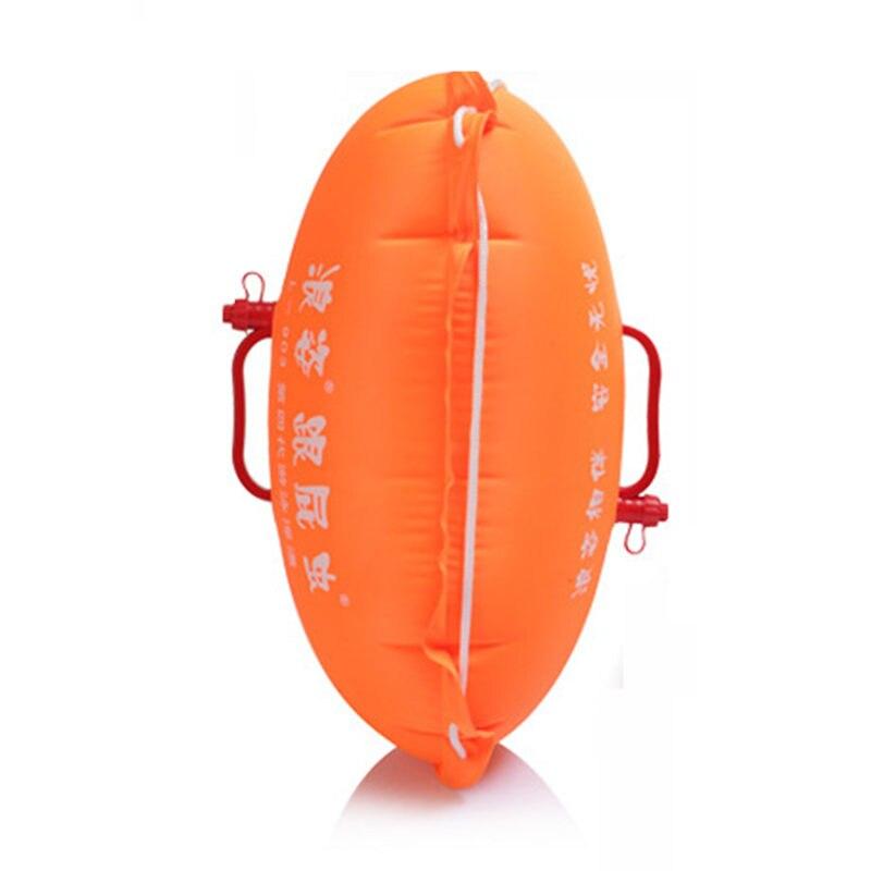 Надувные Stooge плавание двойной подушки безопасности сумки плавающий дрейфующих буй ребенок замок для взрослых поймать безопасный легко обу...