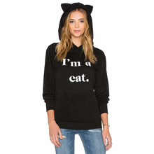 Tumblr Blackpink Cat Ears Hoodies Women Seventeen Bigbang Kawaii Harajuku Jumper Tracksuit Sweatshirts Oversized Moleton Femme
