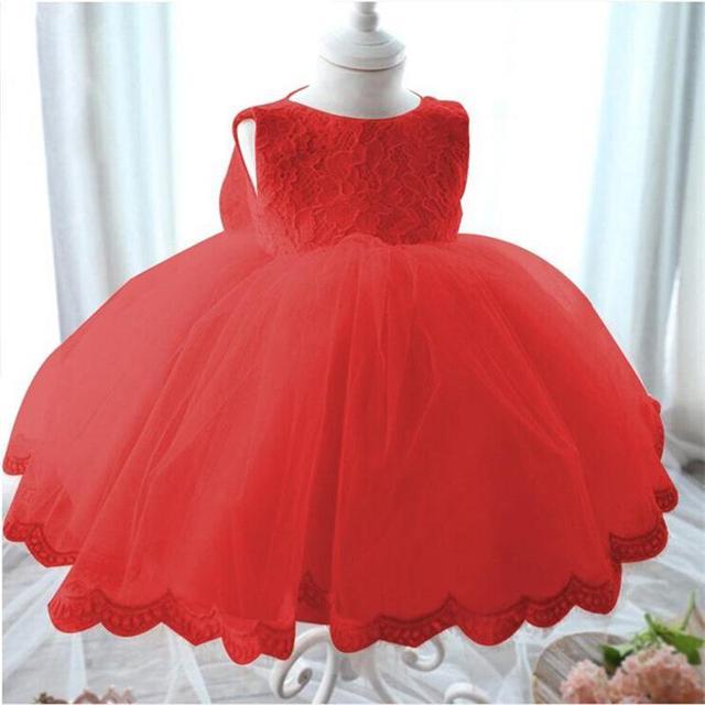 Высокое Качество Baby Girl Dress Крещение Dress Для Девочки Младенческой Dress For Baby Girl Dress For Infant