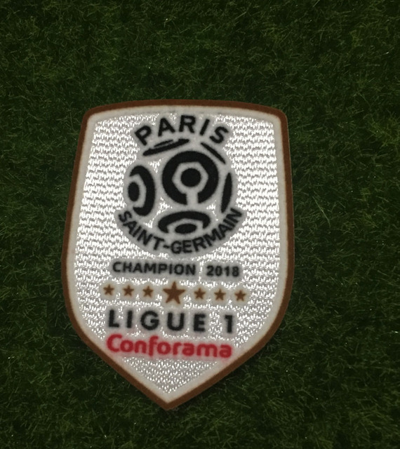 c517f96c5 2018 Ligue 1 Champion Patch Soccer Patch Badge-in Patches from Home ...