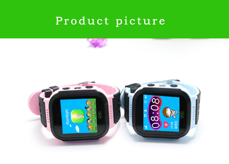 MOCRUX Q527 Smart watch Children Kid Wristwatch SOS GSM Locator Tracker Anti-Lost Safe Smartwatch Child Guard for iOS Android (19)