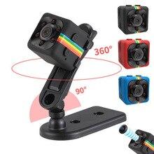 SQ12 SQ11 portátil HD 1080 p CMOS Sensor Night Vision Filmadora Mini Câmeras DVR Câmera DV Gravador De Movimento Filmadora sq8