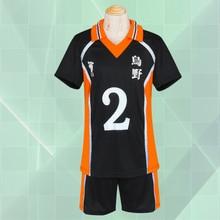 Ainclu Haikyu! Shoyo Хината карасуно средней школы волейбольная команда униформа номер 2 Аниме Косплей Костюм