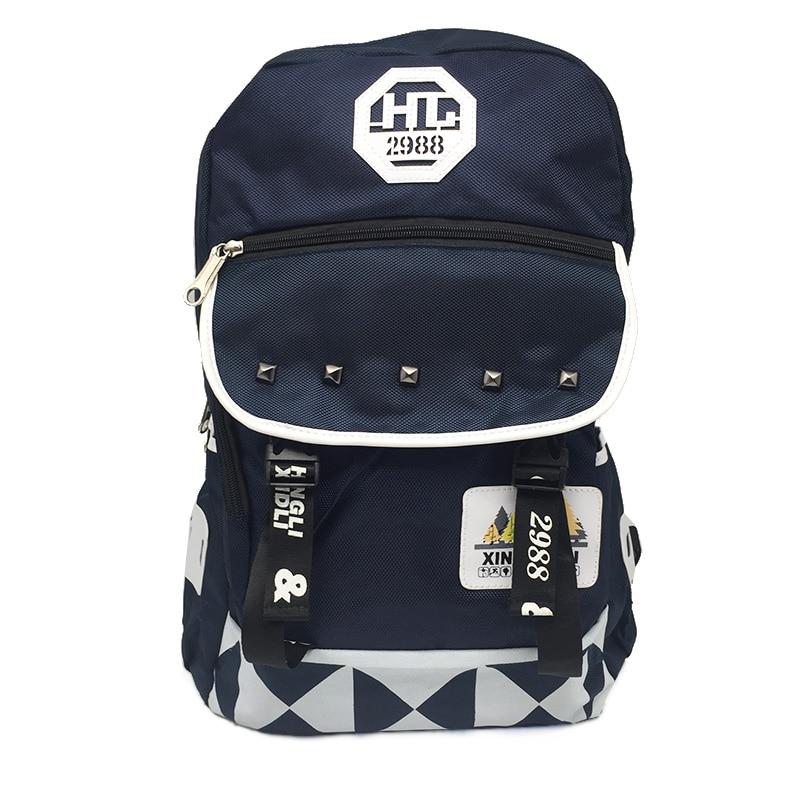 패션 옥스포드 배낭 여성 남성 2017 캐주얼 데이 백 배낭 학교 가방 청소년을위한 Mochilas Unisex Classic College Backpack