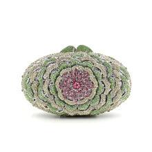 Die Obere Klappe Abs Tag Erfasst Neue 2016 Europäischen Luxus diamant Blume Abendessenbeutel Damen Abend Voller hochwertigen Bohrer Hand