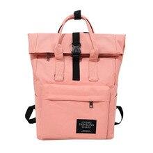 купить Women External USB Charge Backpack Canvas Rucksack Sac a Dos Male Mochila Escolar teens Laptop Shoulder School Bags Backpack дешево