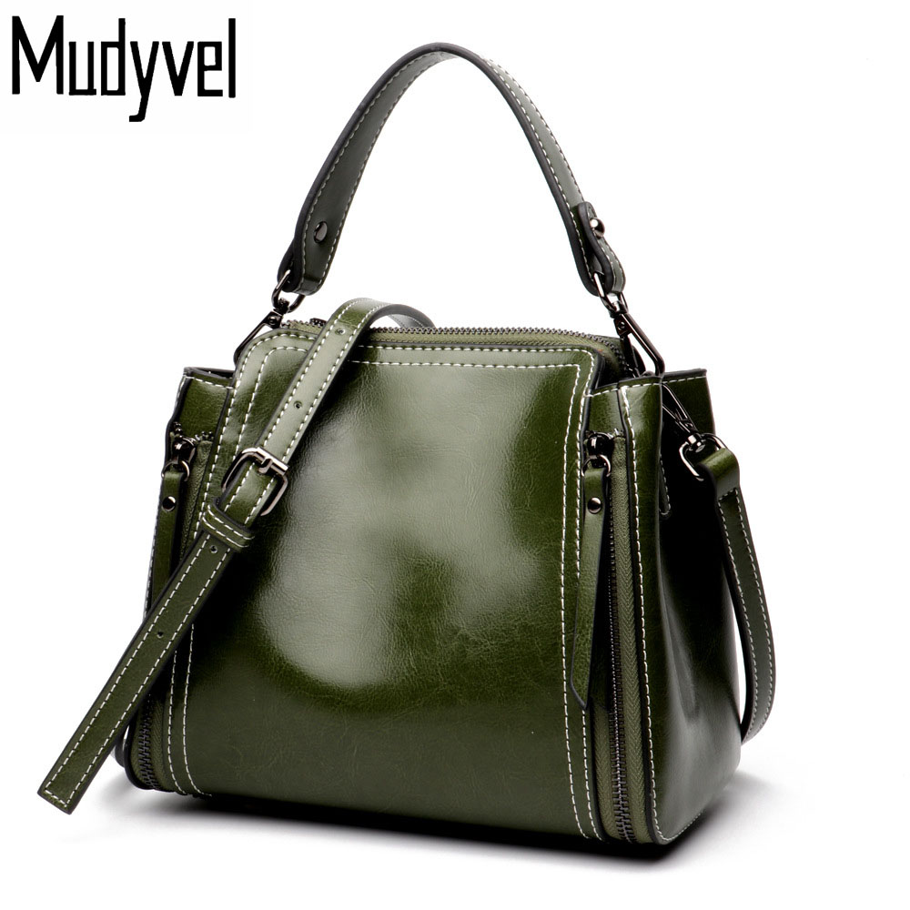 New women bag handbags quality Cowhide genuine cow leather Shoulder bags Luxury ladies cross body bags messenger bag women genuine leather handbags ladies personality new head layer cowhide shoulder messenger bags hand rub color female handbags