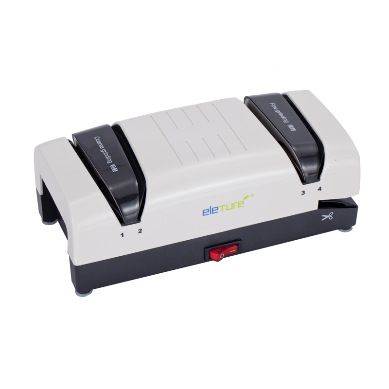 Eleture multifunzionale elettrico veloce per affilare i coltelli rotella di diamante automatiche per uso domestico elettrico per affilare i coltelli