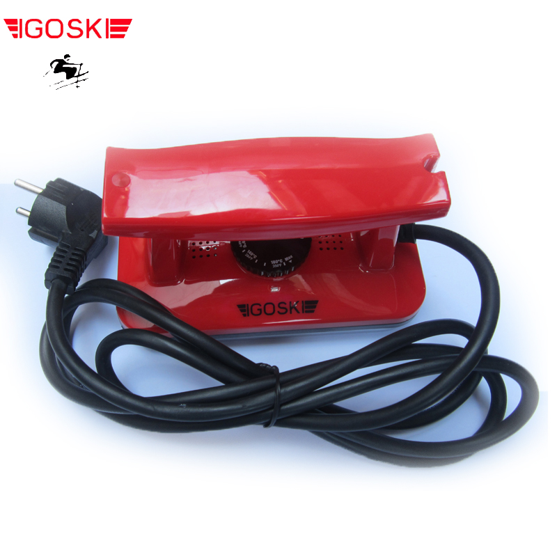 IGOSKI SKI AND SNOWBOARD WAX HEATING IRON TOOL 100-127V AND 220-240V. CE