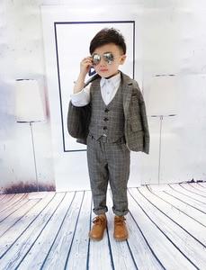 Image 3 - Bé trai Phù Hợp Với cho Đám Cưới Trẻ Em Áo Phù Hợp cho Bé Trai Trang Phục Enfant Garcon Mariage Chạy Bộ Garcon Phù Hợp cho Bé Trai